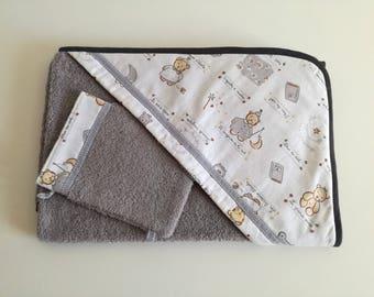 'Little bear' bathrobe cotton