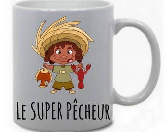 """The great fisherman"" mug"