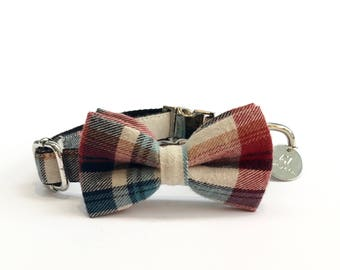 Percy & Co. The Marple Dog Bow Tie Collar