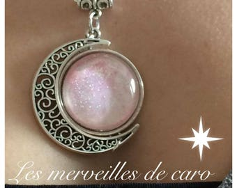 Necklace pink Discretion