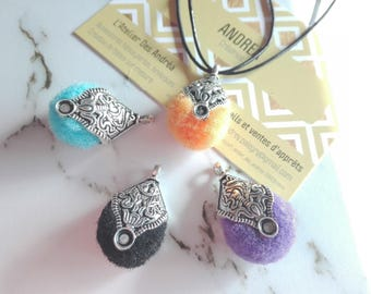 ☆ 4 pendants metal /entrelacs and tassels/30-28 x 17 x 13 mm☆