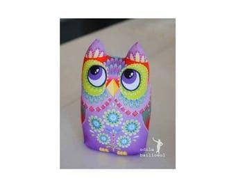 Kit to sew OWL baby cotton