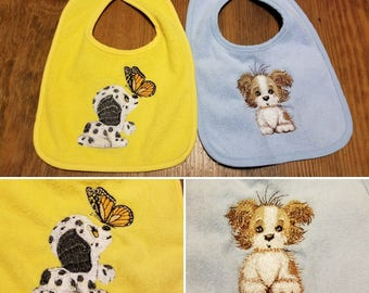 Two Pack of Puppy Bibs