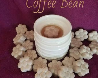 Coffee Bean Scent - Soy Wax Melt - Hand Poured -Handmade - 6 Pack