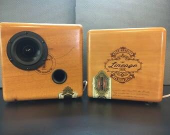 Cigar Box Full Range Speakers