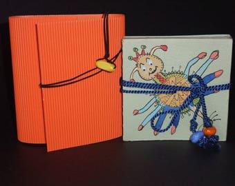 "Artist's book - ""series bestiary"" - signed original artwork"