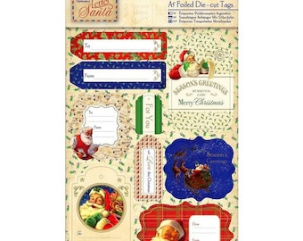 Sticker labels for Christmas gift - 18 pcs - new