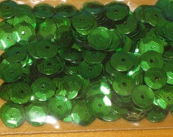 shiny green sequins 5g