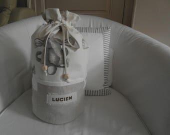 Crossbody Duffle Bag personalized