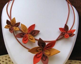 Finery in lambskin, fall color flowers