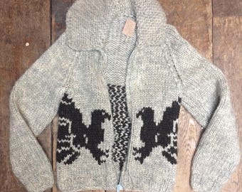 Super cute cowichan sweater