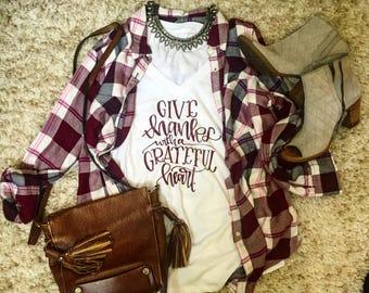 Give Thanks shirt