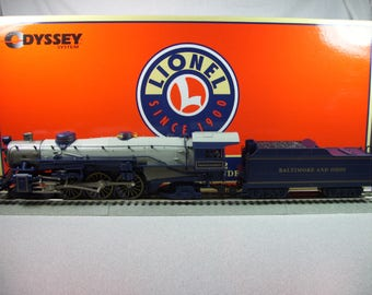 Lionel O Scale President Harrison steam locomotive engine and B&O compatible tender not original