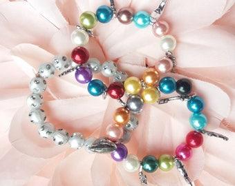 Fancy for little girls charm bracelets