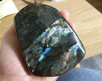 The shape free Labradorite from Madagascar