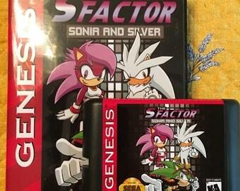 S Factor NTSC-U Genesis *Sonic Homebrew* CB