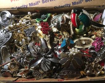 Vintage to now brooches, pins, wear, repair, repurpose