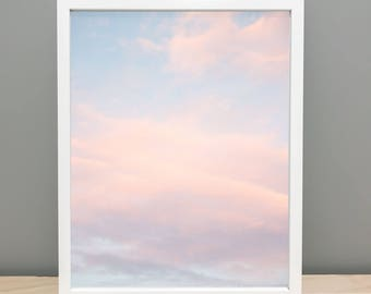 Abstract Clouds Printable Art