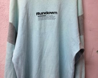 Young Lex rundown reflexology sweatshirt vintage