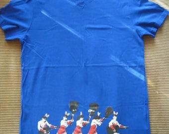 "Man shirt silkscreen ""Pin Up Christmas"""