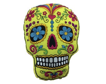 Day of the Dead Skull Pillow Soft Decoration Furniture