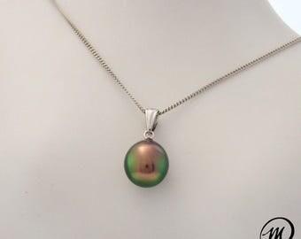 Pendant 18 k gold Perle de Tahiti/MPT4029