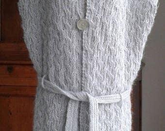 Vest long gray Womens Sleeveless T 40/42/44