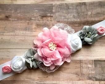 Flower Girl Sash/Belt Dress Belt Girls Photo Prop Bridal Belt