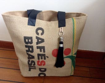 Small tote Cafes Do Brasil