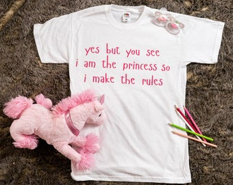 I Am The Princess ABDL/DDLG T-shirt