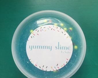 Spongebob Squarepants Glitter Slime