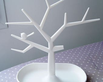 DISPLAY JEWELRY TREE WHITE