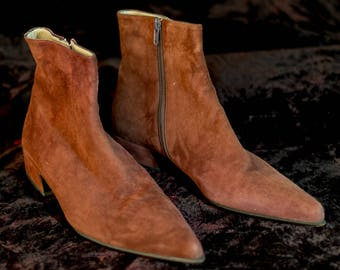Prada Beatle Boots, Vintage