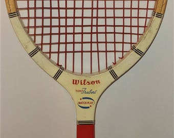 Vintage Wood Tennis Racket: Wilson Tony Trabert