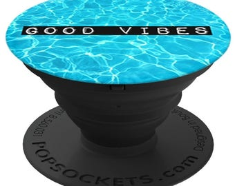 PopSockets For Phone Pop Socket Phone Grip Phone Stand Holder Good Vibes