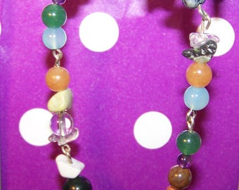 Gemstone CANCER bracelet
