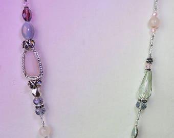 Multi gemstone necklace