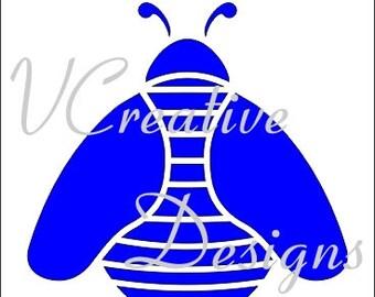 551 Bee stencil