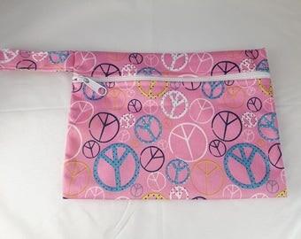 Waterproof Reusable Zippered Wet Bag
