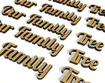Our Family Tree Mdf Words