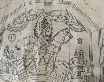 Tapestry stitch run dmc