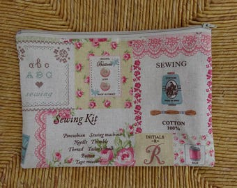 Kit for small sewing material