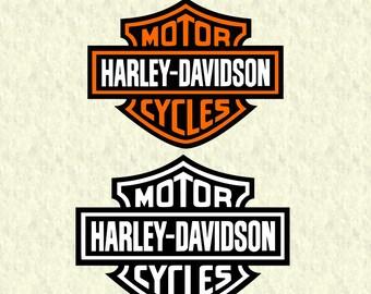 Harley Davidson Logo SVG, harley davidson dxf, harley logo clipart, harley cut file, silhouette cameo, cricut