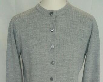 Dotty Mann Cardigan sweater size small