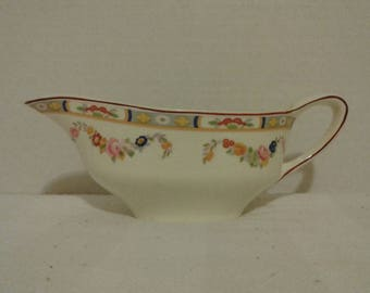 Vintage gravy boat by Pareek Johnson Brothers of England