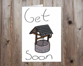 Get Well Soon A5 Card