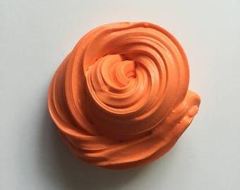 Yellowish orange butter slime
