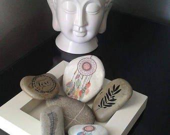 Set of 6 stones