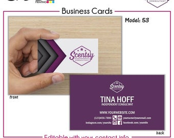 Scentsy Business Card - Digital File