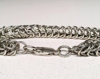 Handmade Sterling Silver Chain Bracelet